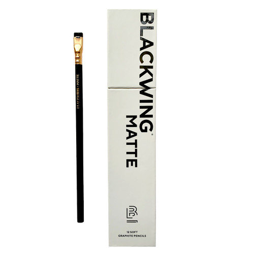 Blackwing Matte Pencils, 12-Pack