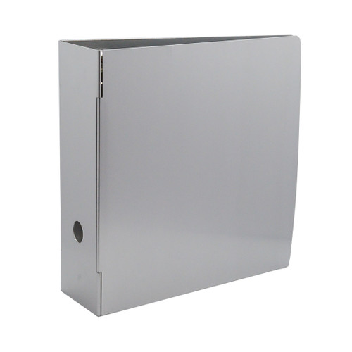 "Heavy-Duty Metal 3-Ring Binder, 4"" Spine"