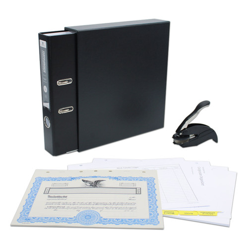 Corporate Kit with Seal, 2-Ring Binder