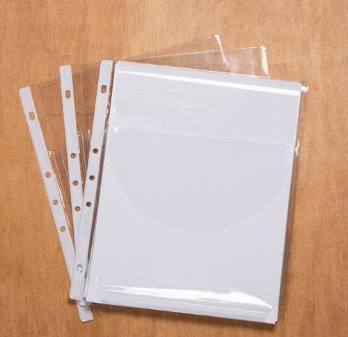 Expandable Heavy-Duty Sheet Protectors with Flap Closure, Letter-Size, 10-Pack