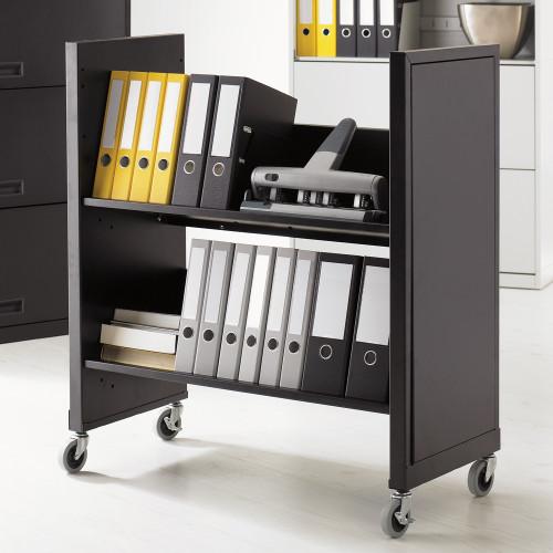 Datum Rolling Binder File Cart