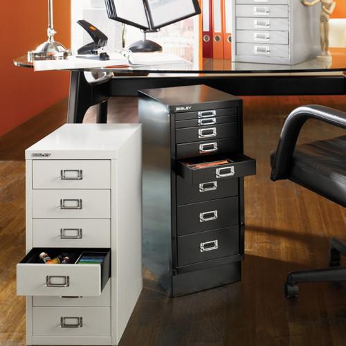 Bisley 8-Drawer Under-Desk Multidrawer Steel Cabinet