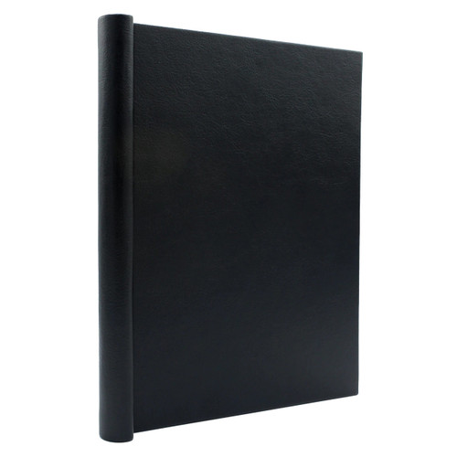 "Faux Leather Thesis Springback Binder, 1"" Spine"