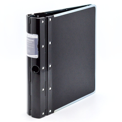 "Optimum Heavy-Duty 3-Ring Binder, 2.3"" Spine"