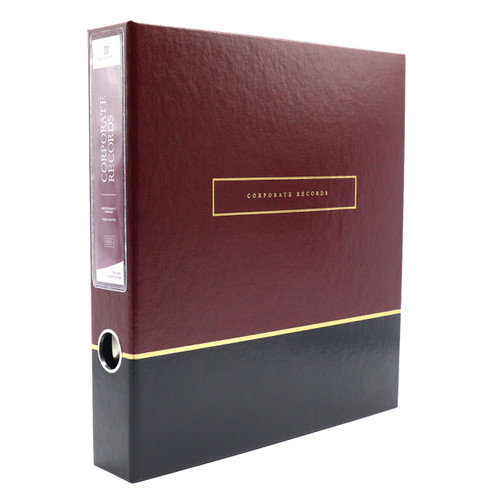 Deluxe Corporate Records 3-Ring Binder