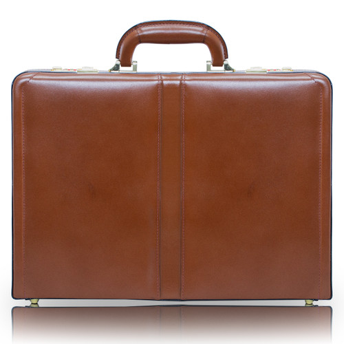 Reagan Leather Attaché Briefcase