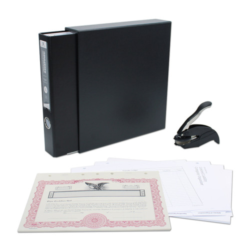 LLC Kit with Seal, 3-Ring Binder