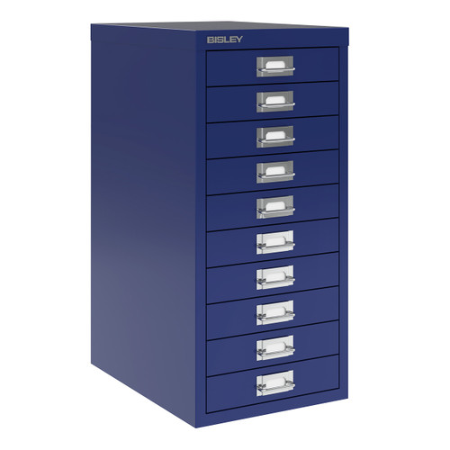 Bisley 10-Drawer Under-Desk Multidrawer Steel Cabinet