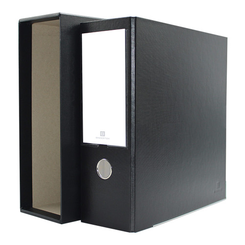 """One-Touch Classic 3-Ring Binder with Slipcase, 4"""" Spine"""
