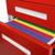 Glide 3-Drawer Mobile File Cabinet