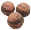 "CHOCOLATE RASPBERRY scented giant bath bomb 2.5"" diameter, 5.8 oz"