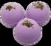"LAVENDER scented giant bath bomb 2.5"" diameter, 5.8 oz"