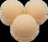 "CARROT CAKE scented giant bath bomb 2.5"" diameter, 5.8 oz"