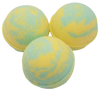 "LEMONGRASS SAGE scented giant bath bomb 2.5"" diameter, 5.8 oz"