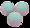 "SWEET PEA scented giant bath bomb 2.5"" diameter, 5.8 oz"