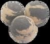 "FRANKINCENSE & MYRRH scented giant bath bomb 2.5"" diameter, 5.8 oz"
