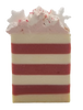 CANDY CANE handmade artisan blend soap bar 6.5 oz