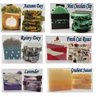 5 BAR variety pack of ARTISAN HANDMADE soaps