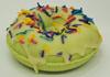 DONUT bath bomb 6.5 oz - your choice scent & color