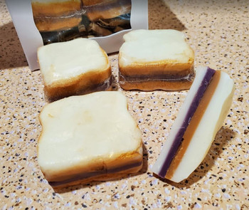 PEANUT BUTTER & JELLY SANDWICH Wax Melts   Wax Embeds for Candles   Fake Food