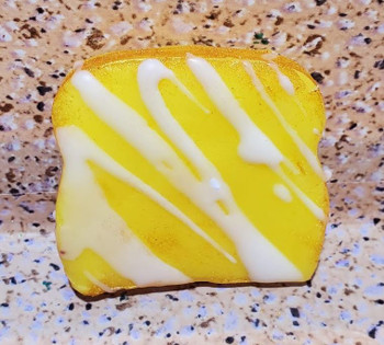 LEMON POUND CAKE slices Wax Melts   Wax Embeds for Candles   Fake Food   1/2 lb   1 lb