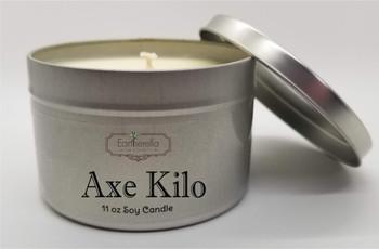 AXE KILO Soy Candle 11 oz Tin