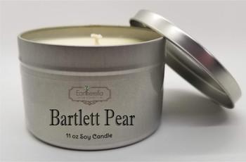 BARTLETT PEAR Soy Candle 11 oz Tin
