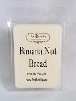 BANANA NUT BREAD Soy Melts Tarts 2.7 oz