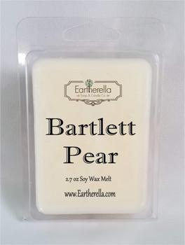 BARTLETT PEAR Soy Melts Tarts 2.7 oz