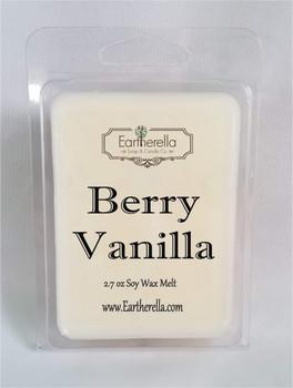 BERRY VANILLA Soy Melts Tarts 2.7 oz