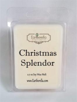 CHRISTMAS SPLENDOR Soy Melts Tarts 2.7 oz