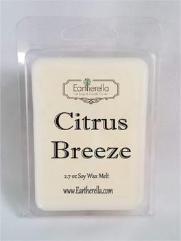 CITRUS BREEZE Soy Melts Tarts 2.7 oz