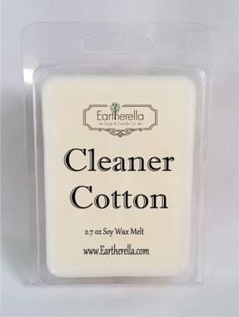 CLEANER COTTON Soy Melts Tarts 2.7 oz