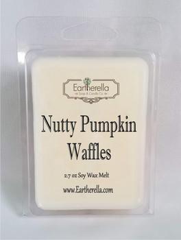 NUTTY PUMPKIN WAFFLES Soy Melts Tarts 2.7 oz