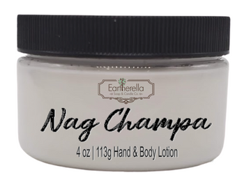 NAG CHAMPA Hand & Body Lotion Jar, 4 oz.