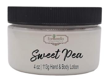 SWEET PEA Hand & Body Lotion Jar, 4 oz.