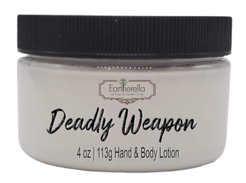 DEADLY WEAPON Hand & Body Lotion Jar, 4 oz.