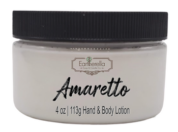AMARETTO Hand & Body Lotion Jar, 4 oz.