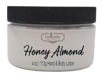 HONEY ALMOND Hand & Body Lotion Jar, 4 oz.