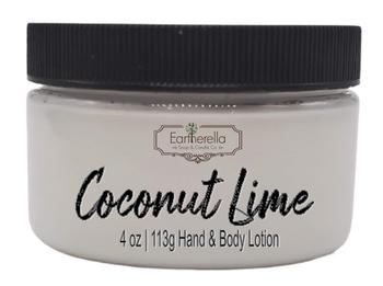 COCONUT LIME Hand & Body Lotion Jar, 4 oz.