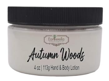 AUTUMN WOODS Hand & Body Lotion Jar, 4 oz.