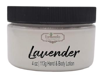 LAVENDER Hand & Body Lotion Jar, 4 oz.