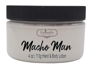 MACHO MAN Hand & Body Lotion Jar, 4 oz.