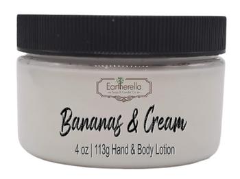 BANANAS & CREAM Hand & Body Lotion Jar, 4 oz.