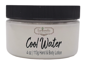 COOL WATER Hand & Body Lotion Jar, 4 oz.