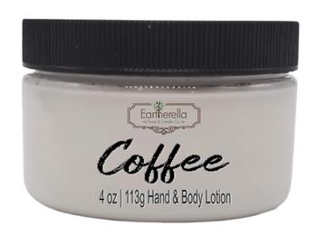 COFFEE Hand & Body Lotion Jar, 4 oz.