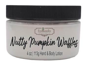 NUTTY PUMPKIN WAFFLES Hand & Body Lotion Jar, 4 oz.
