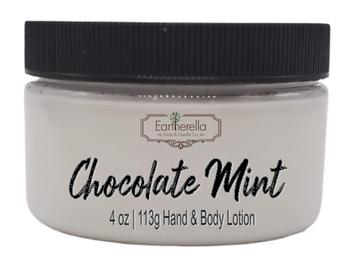 CHOCOLATE MINT Hand & Body Lotion Jar, 4 oz.