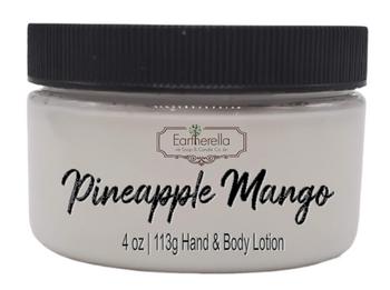 PINEAPPLE MANGO Hand & Body Lotion Jar, 4 oz.