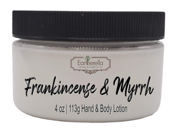 FRANKINCENSE & MYRRH Hand & Body Lotion Jar, 4 oz.